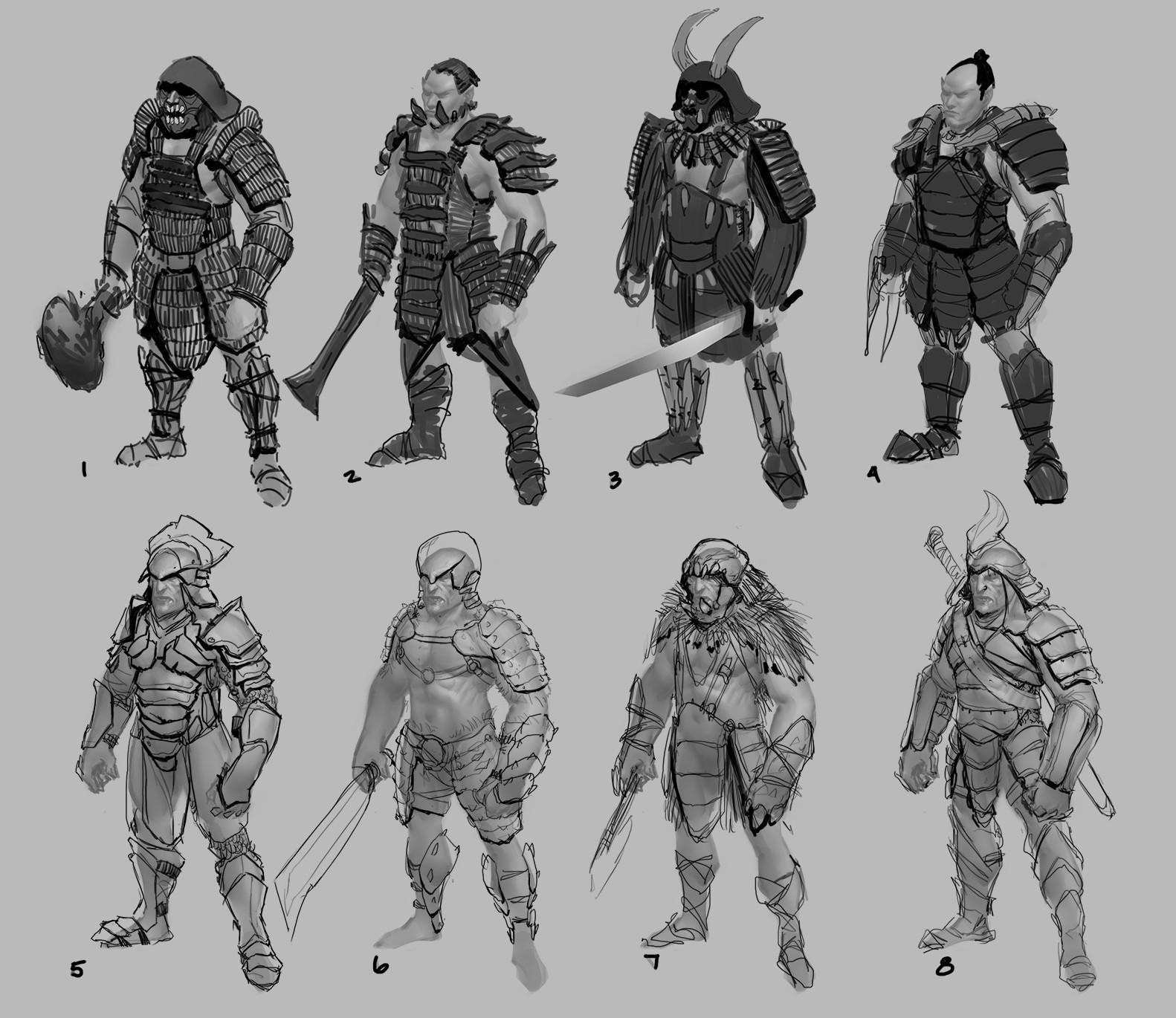Jared kristoph jones orc armor roughs