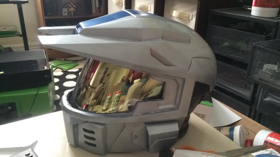 ArtStation - Mk V helmet from Halo 3, Mark Pafford