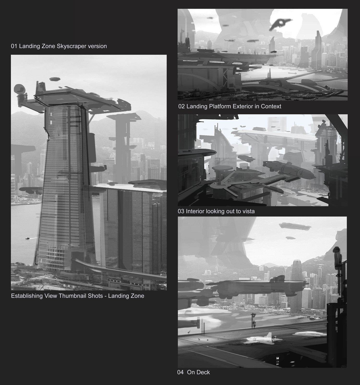 early thumbs ideations
