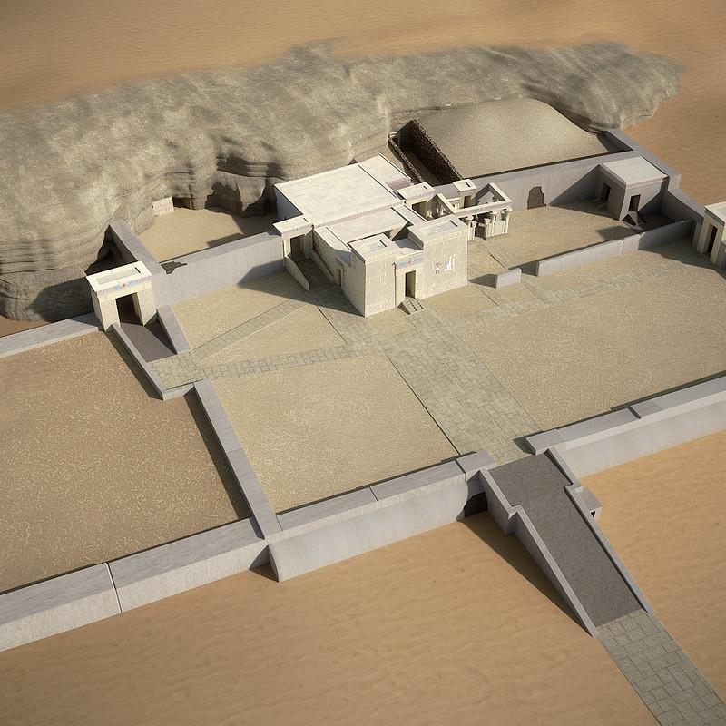 Sacred Animal Necropolis North of Saqqara