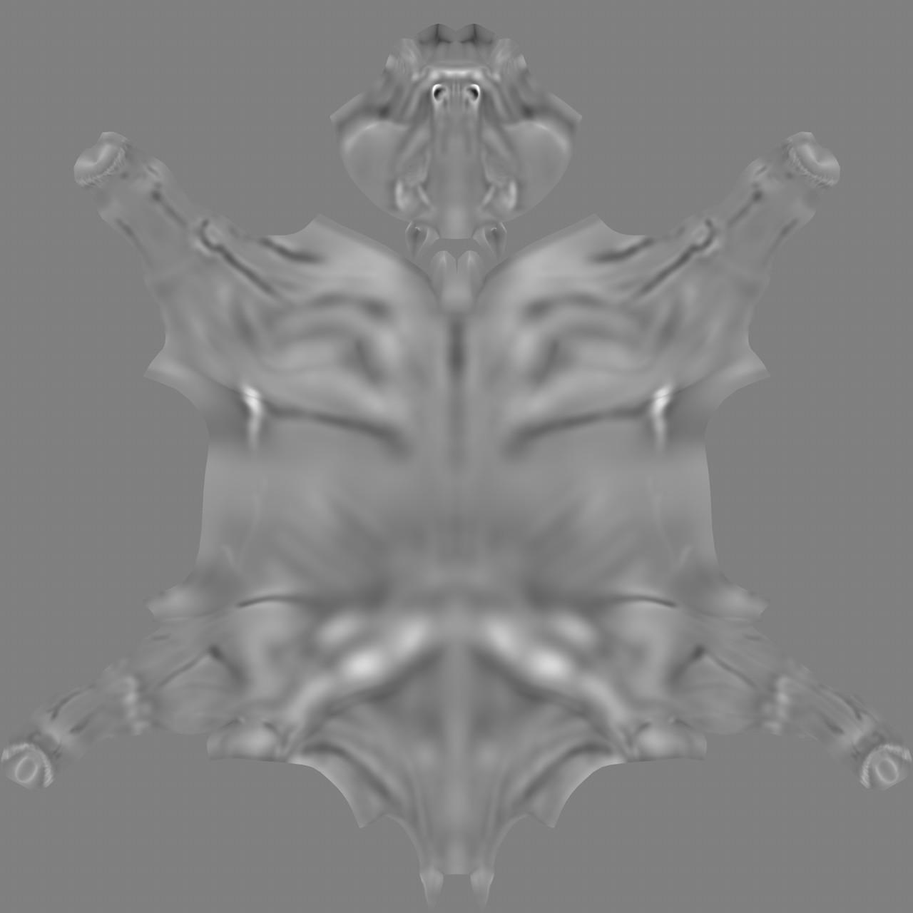 Marie sanginesi horse v013 zsculpt displacementmap v006
