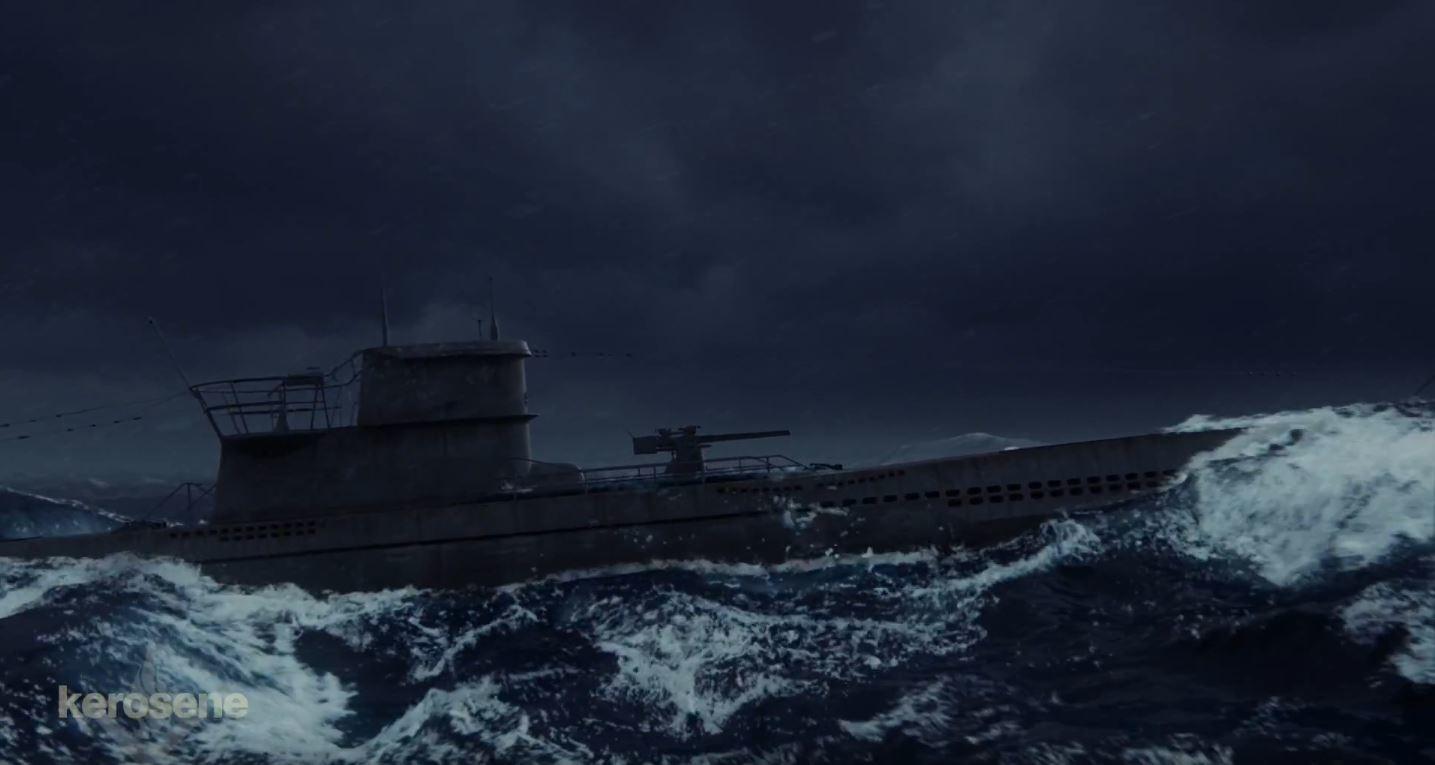 Marie sanginesi uboat footage01