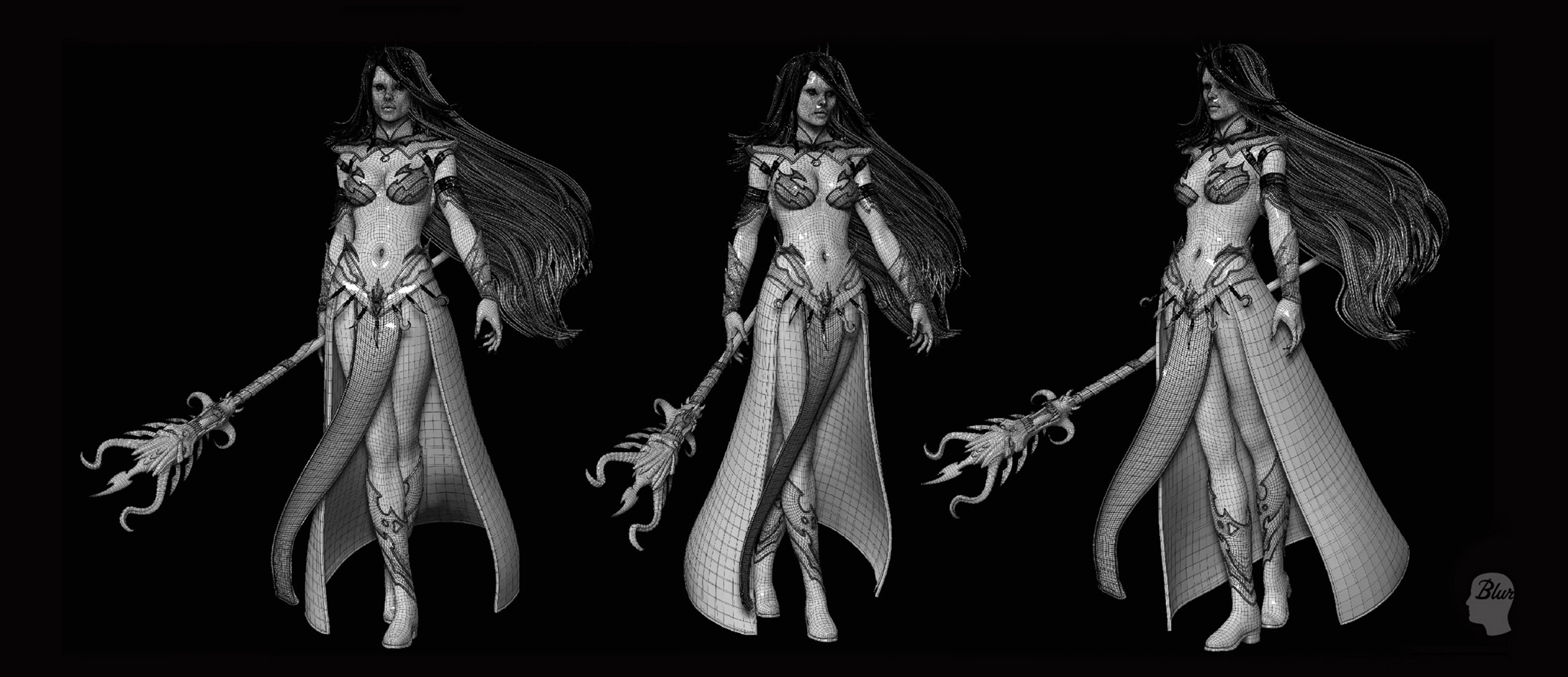 Warhammer Age Of Reckoning - DarkElf Sorceress