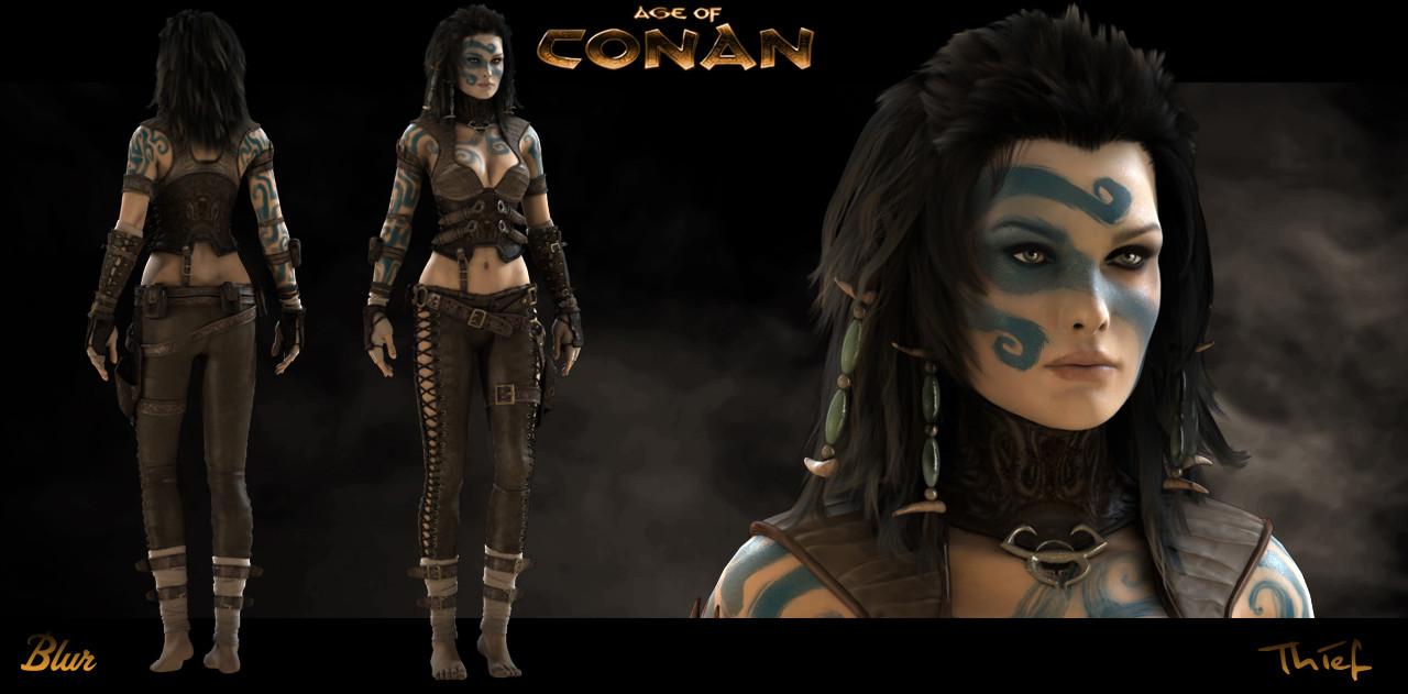 Age of Conan - Keira