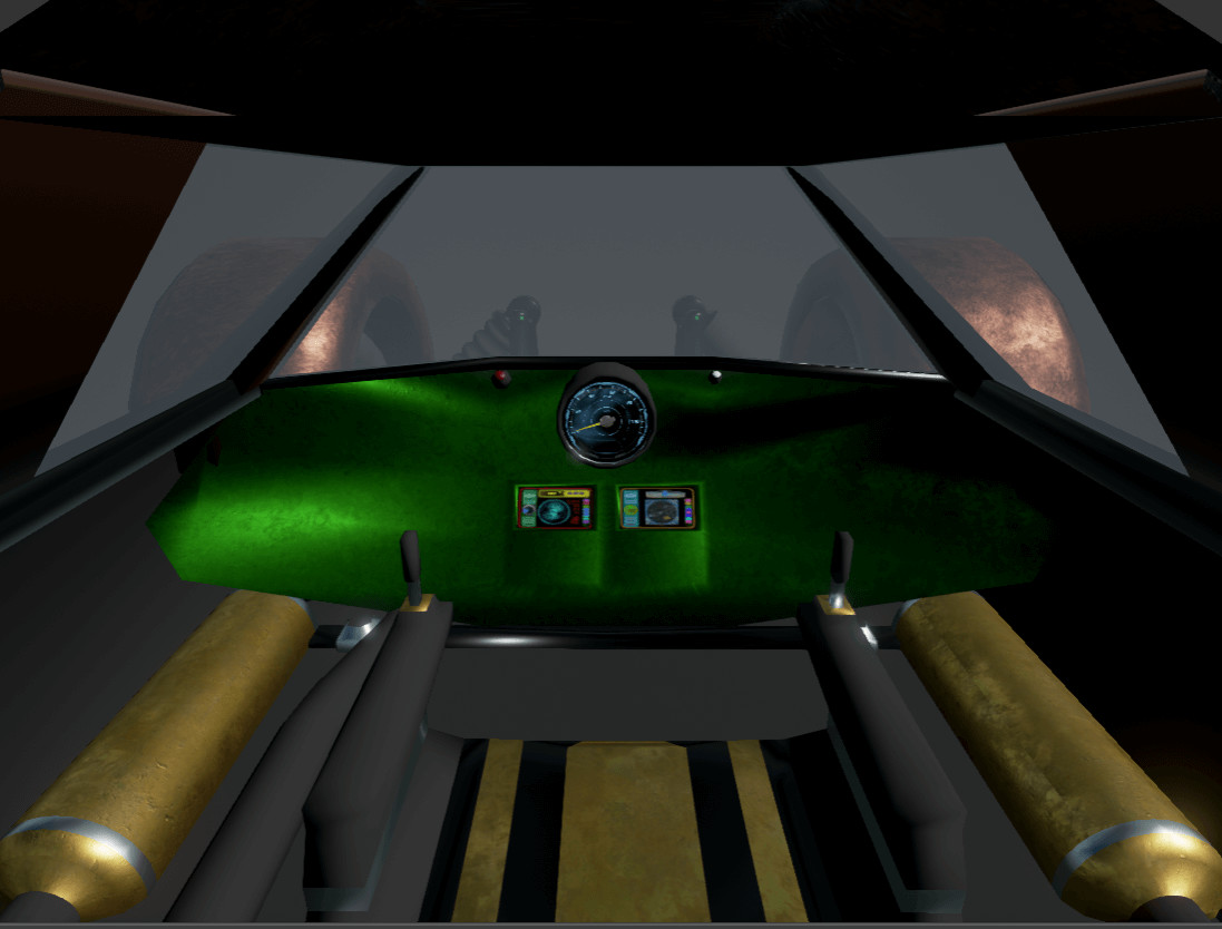 Bunny luny vehicle cockpit