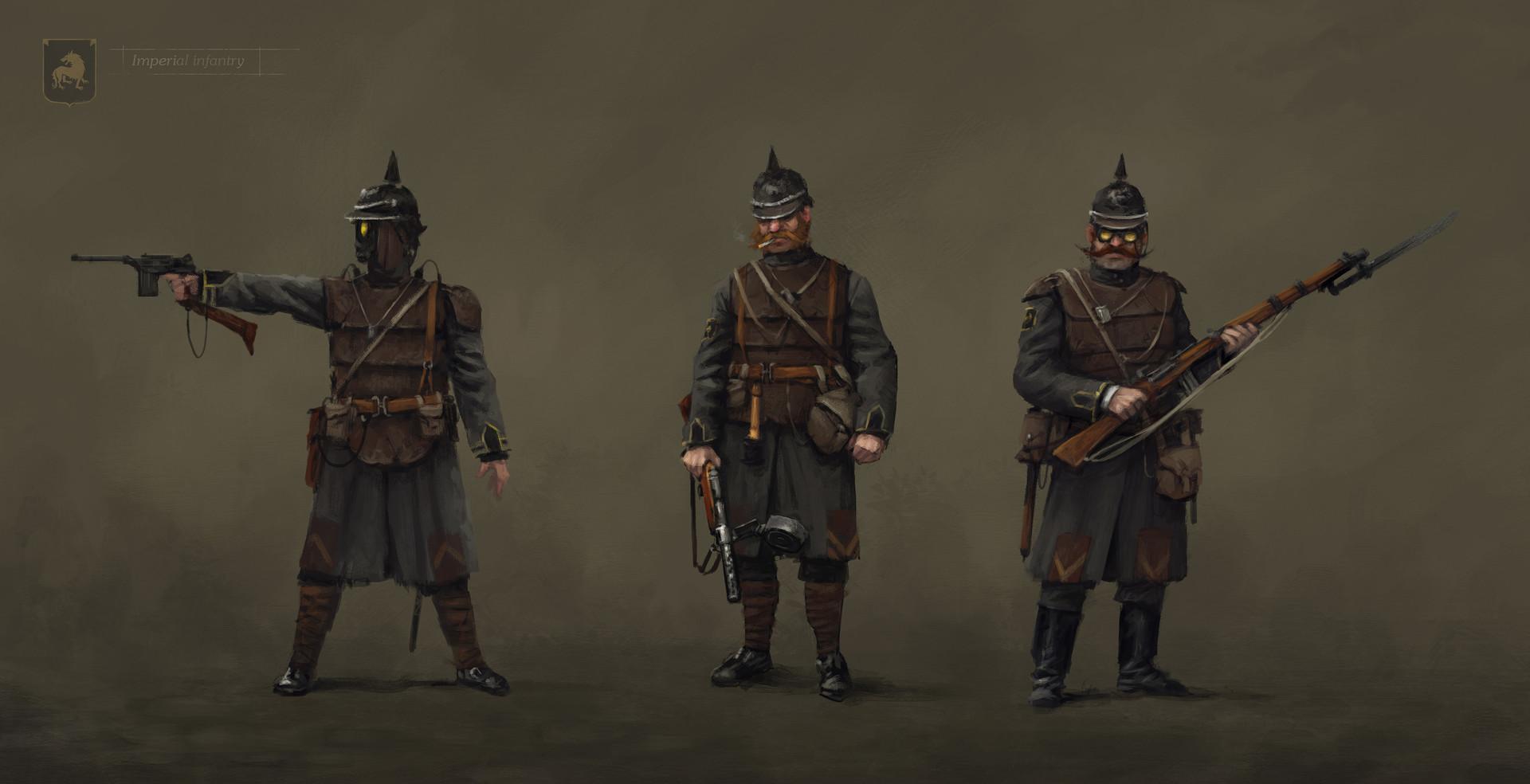 Jakub rozalski unit saxony basic infantrys