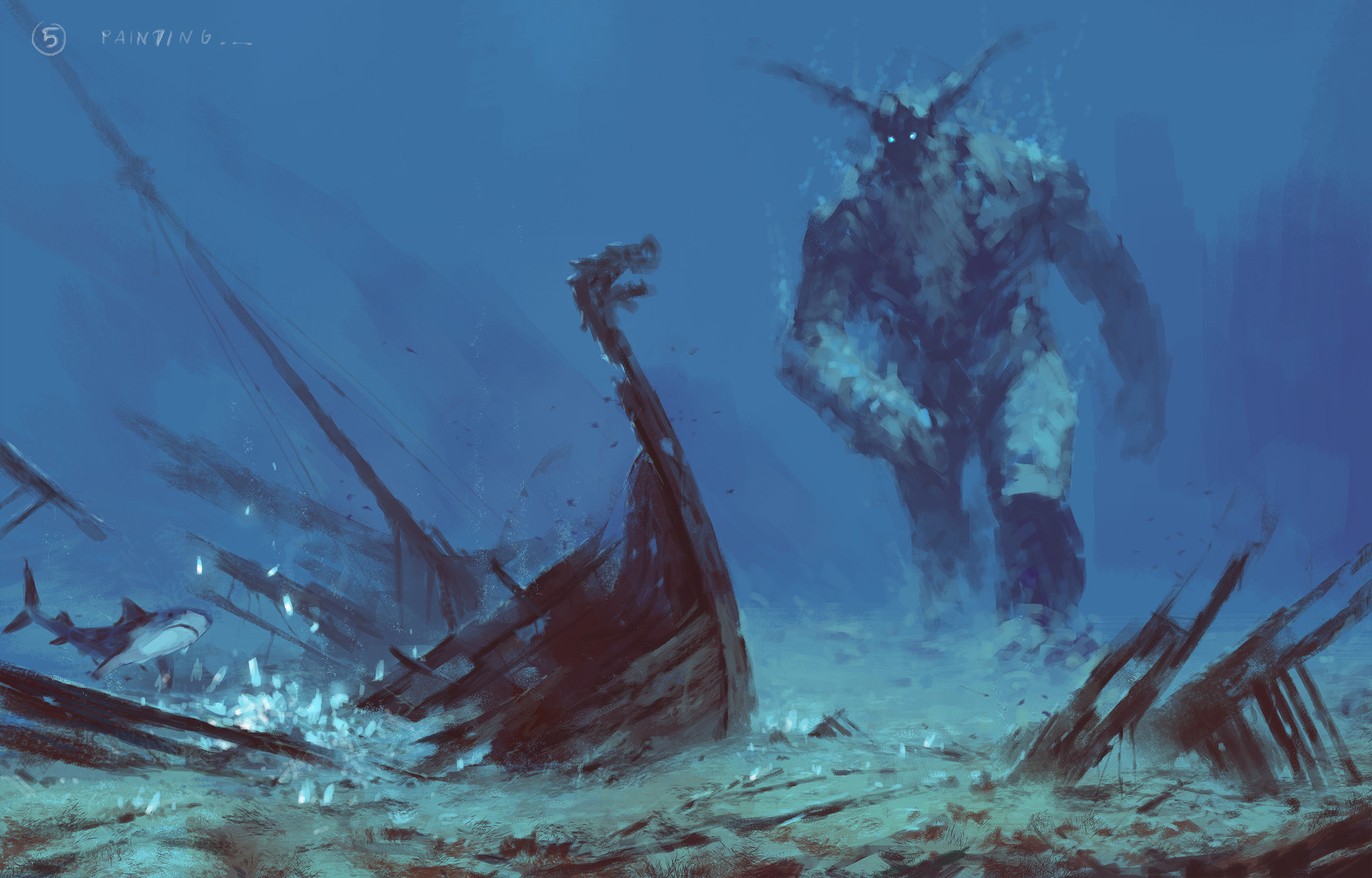 Jakub rozalski ancients conceptart 04process5