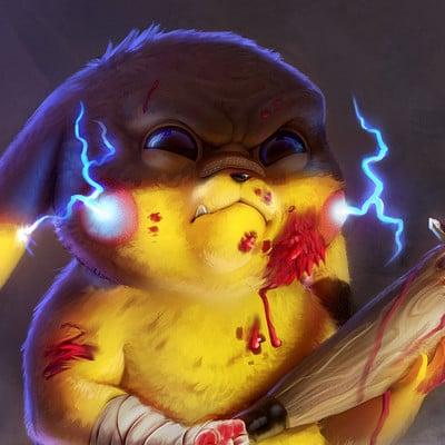 Guilherme gusmao de freitas pikachu evil