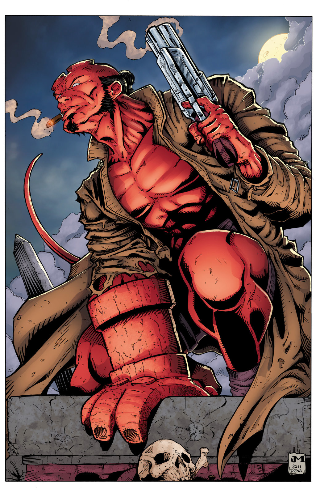 Hellboy (Colours, 2016)