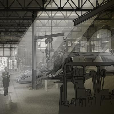 Dermot walshe garage sketch overlays
