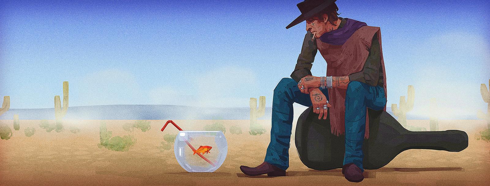 Tears of a western man