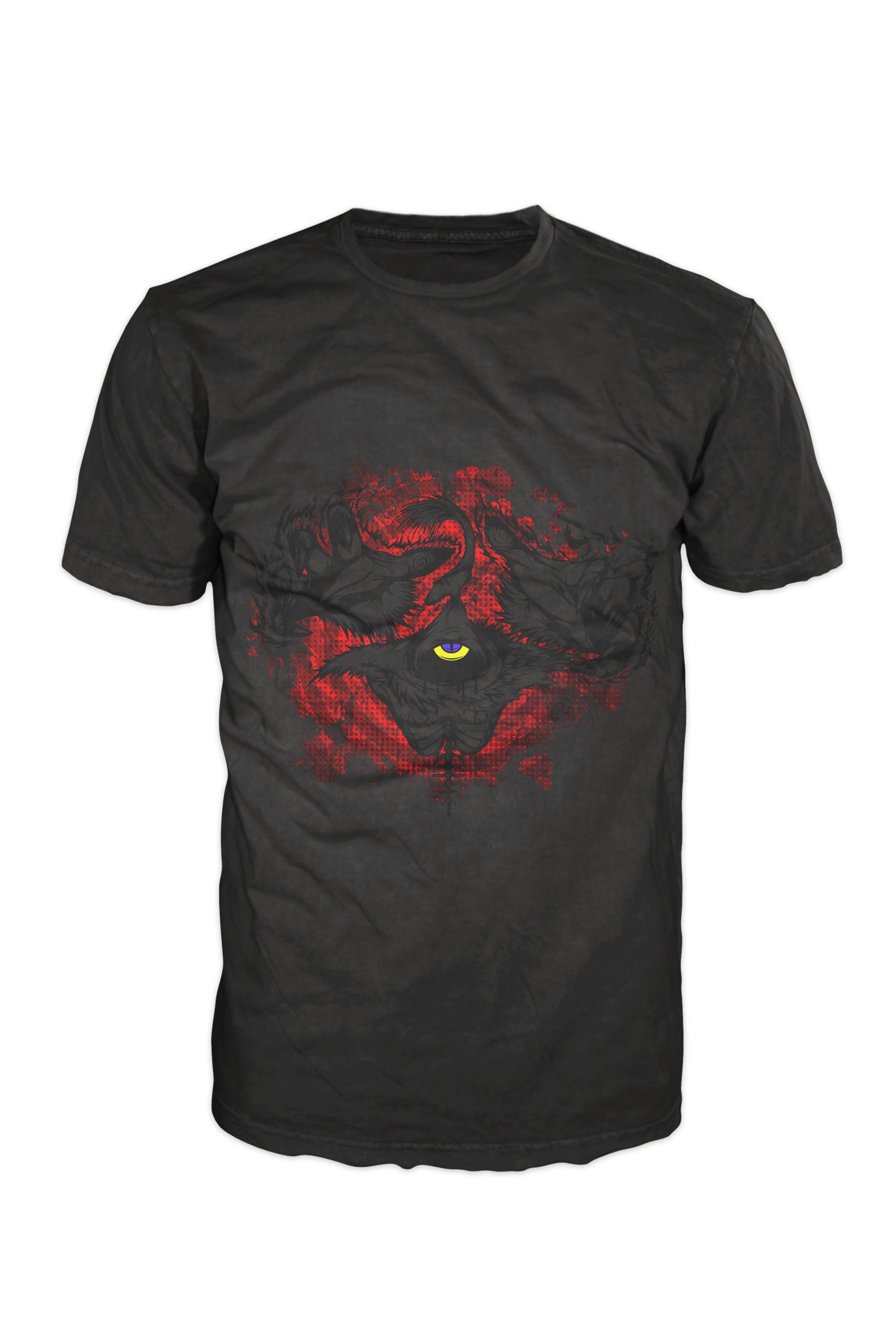 Nathaniel scramling the void shirt4