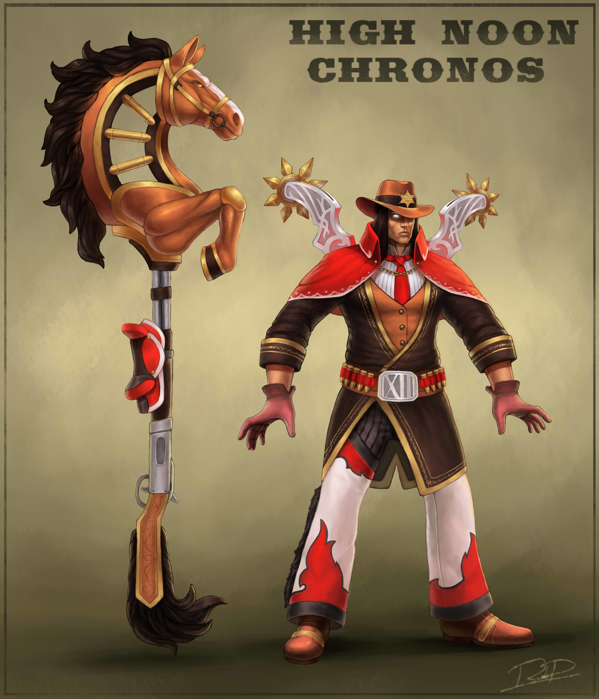 ArtStation - High Noon Chronos, Robert Koziel