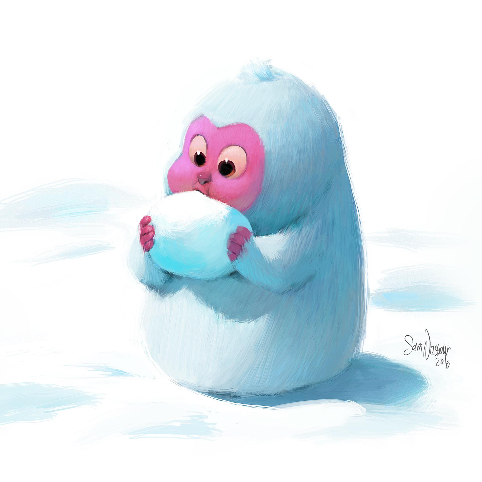 Sam nassour snowmonkey