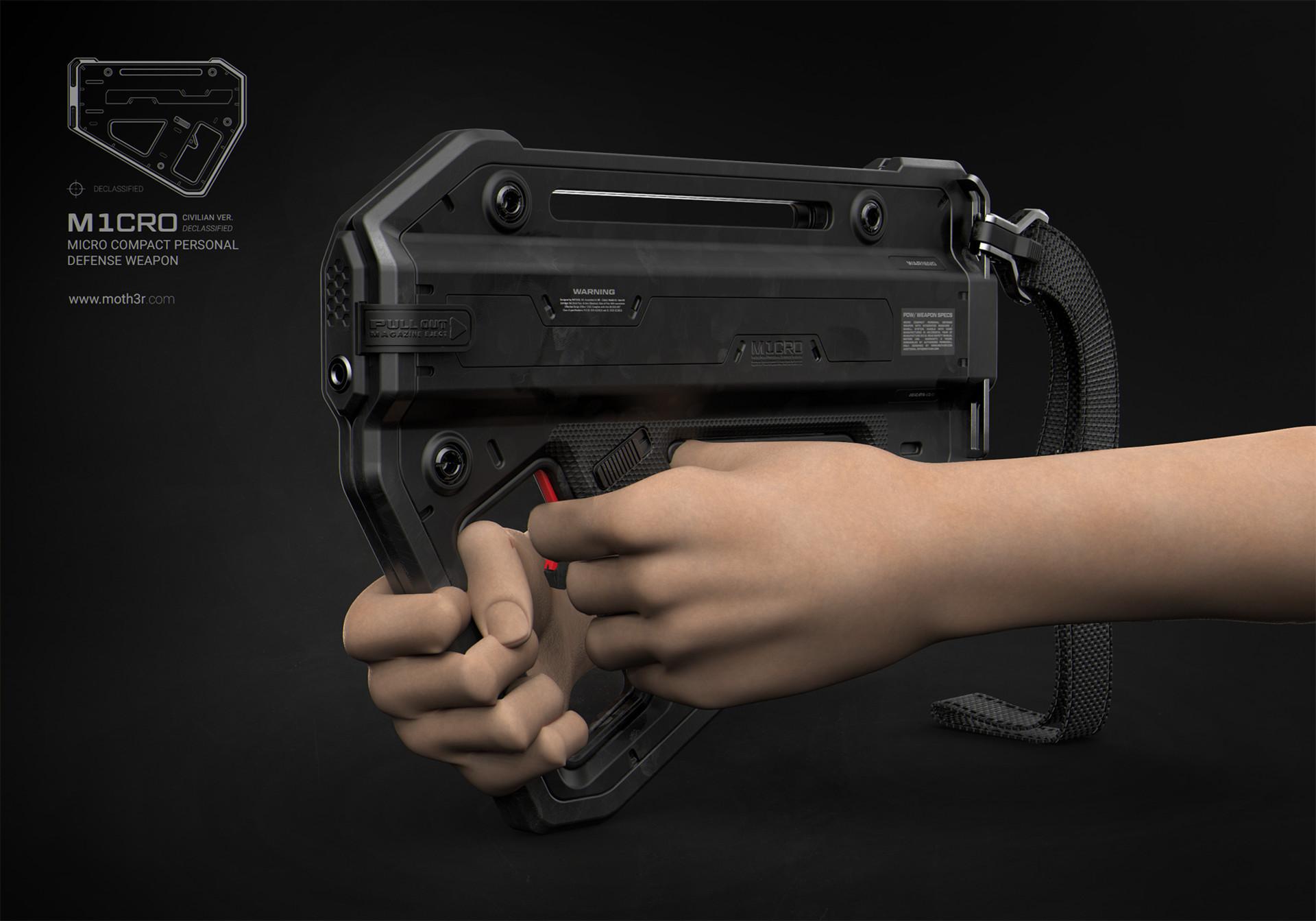 Ivan santic render single front perspective hands