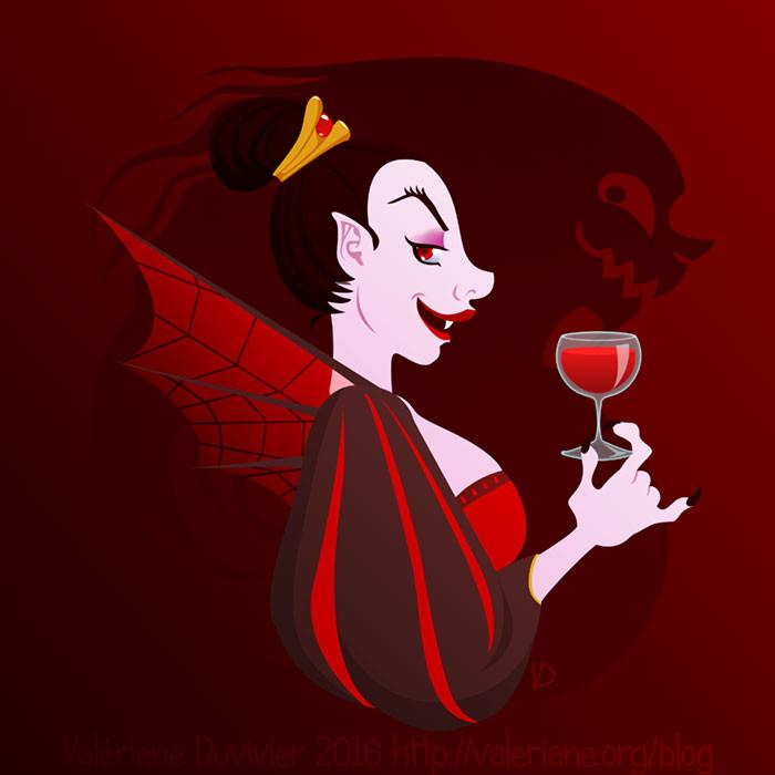 Valeriane duvivier small ahuri vampire