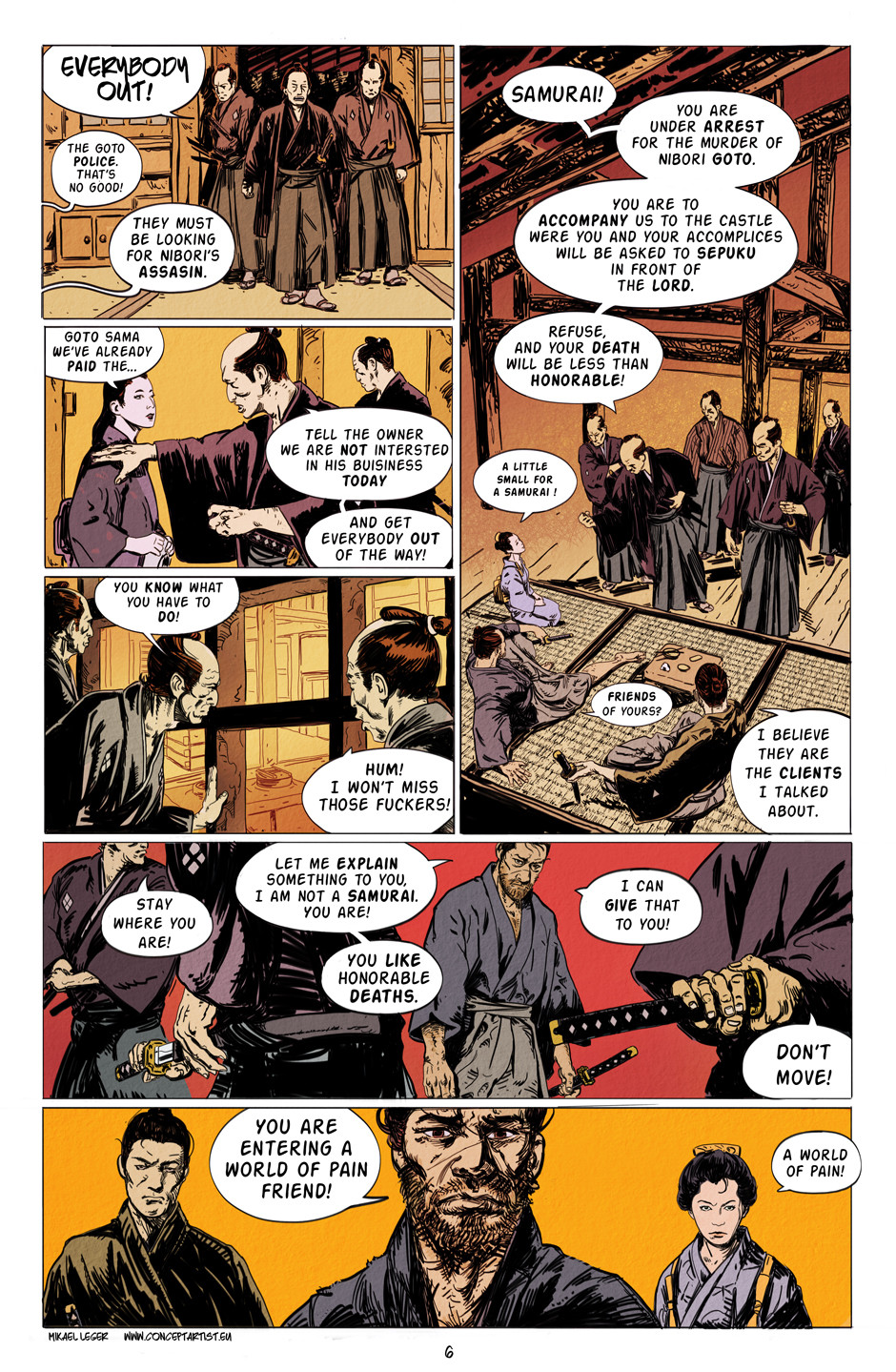 Mikael leger kaito page 6 colors web
