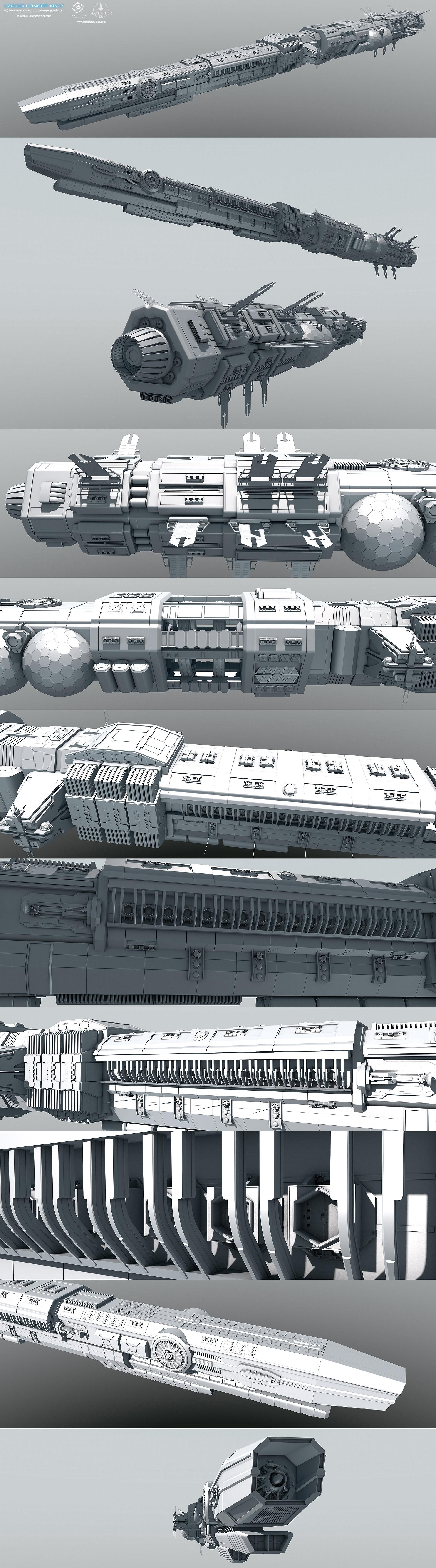Glenn clovis carrier concept mk17 by glennclovis