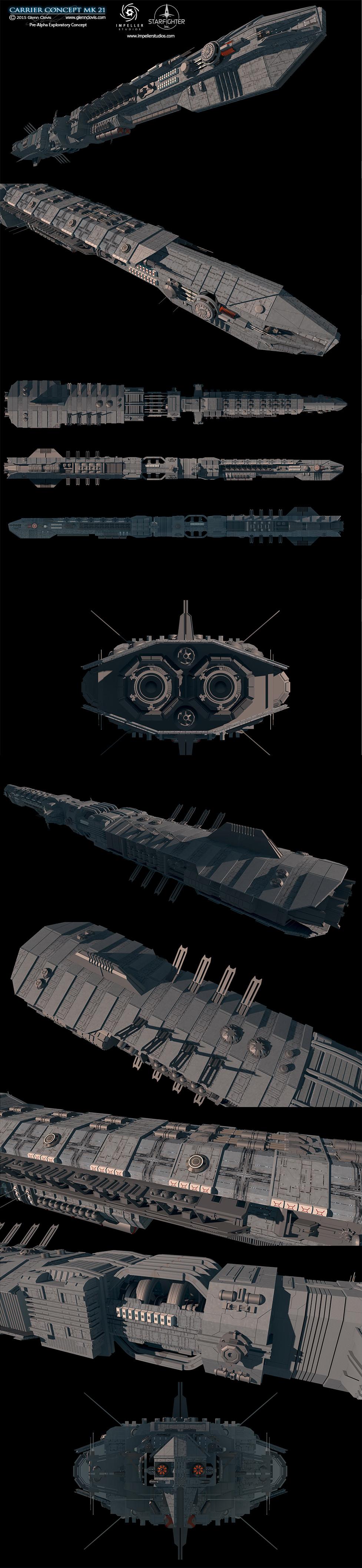 Glenn clovis carrier concept mk21 by glennclovis
