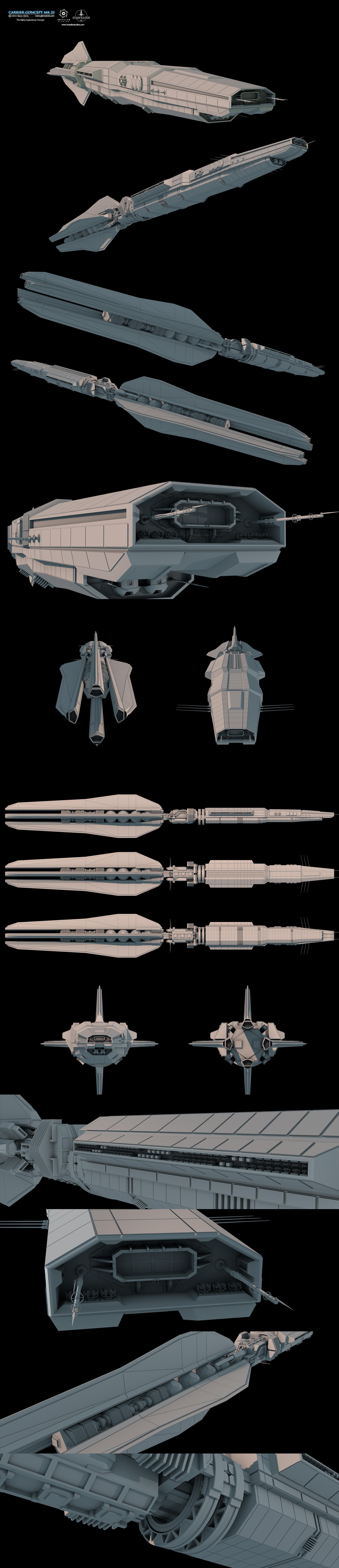 Glenn clovis carrier concept mk23 by glennclovis