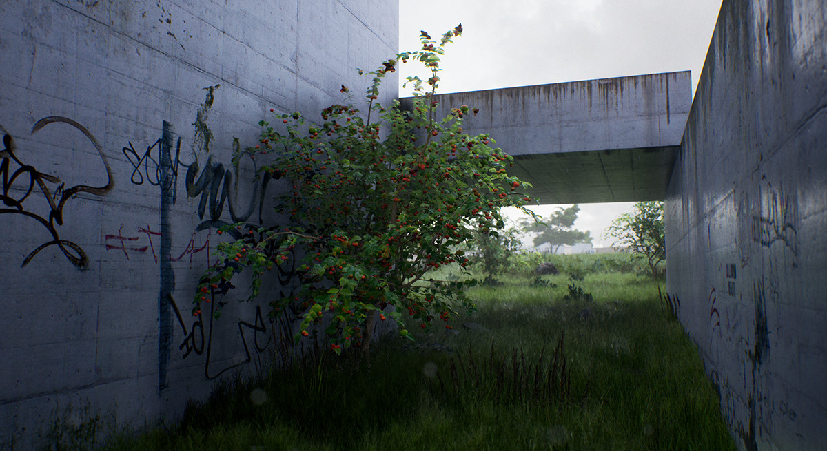 ArtStation - Abandoned Place - Time and Weather, Guilherme