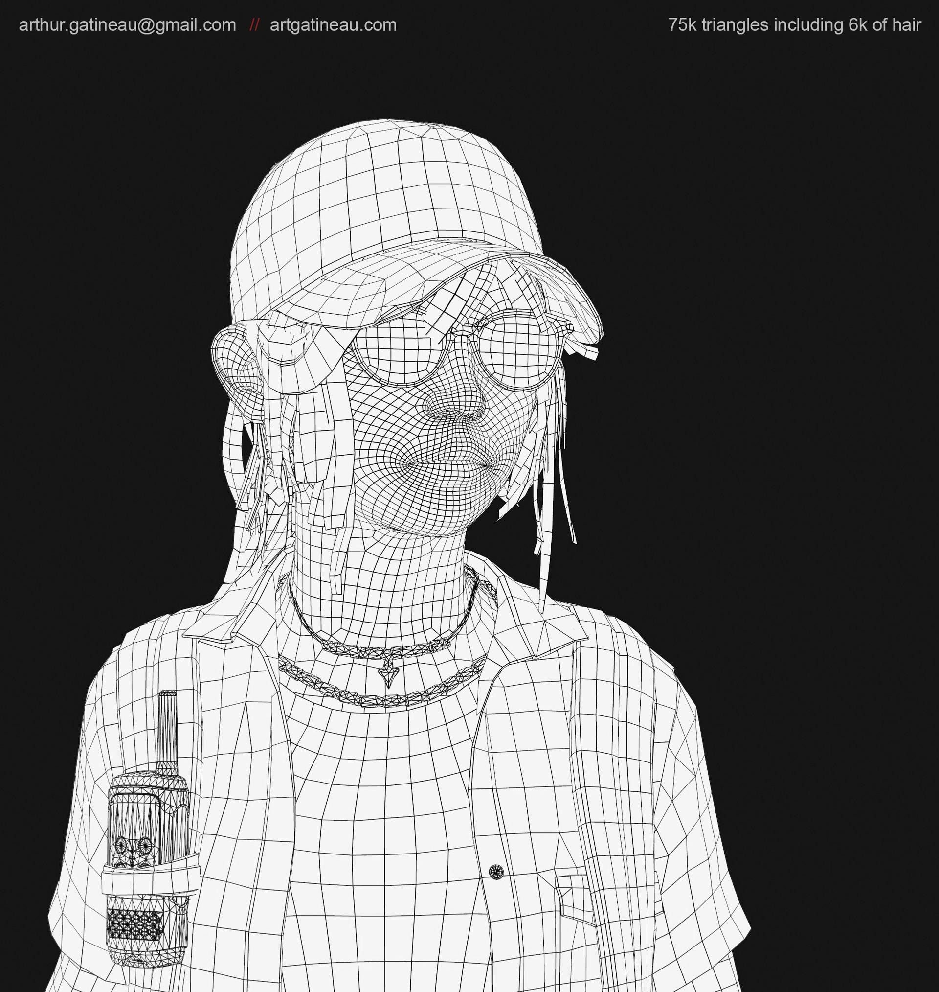 Arthur gatineau marmoset presentation wireface