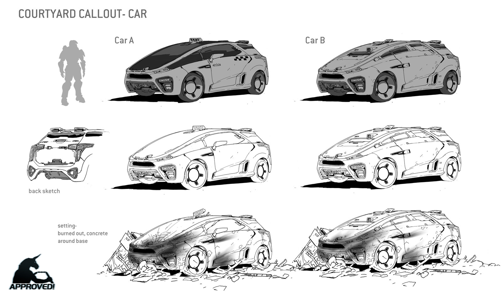 Halo 5- Various Vehicle Concepts