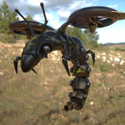 Arcadeous phoenix surveillance wasp weathered c