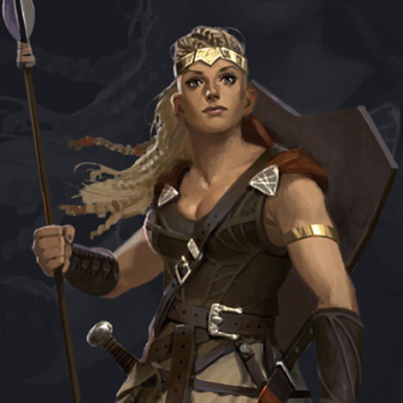 7th Sea: second edition - Vestenmannavnjar female