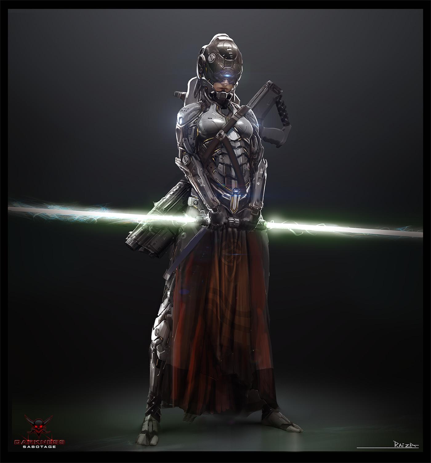Raiza Sci-Fi samurai