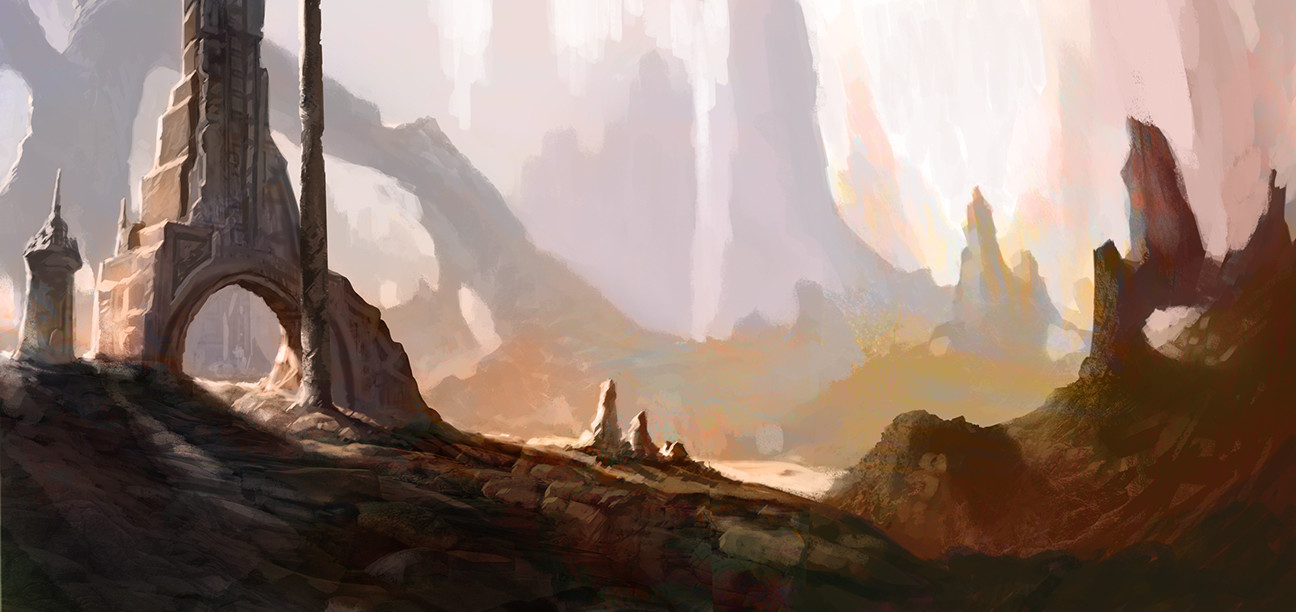 La nouvelle aube de Rann [Sideways] Thomas-denmark-barsoom-rugged-ruins