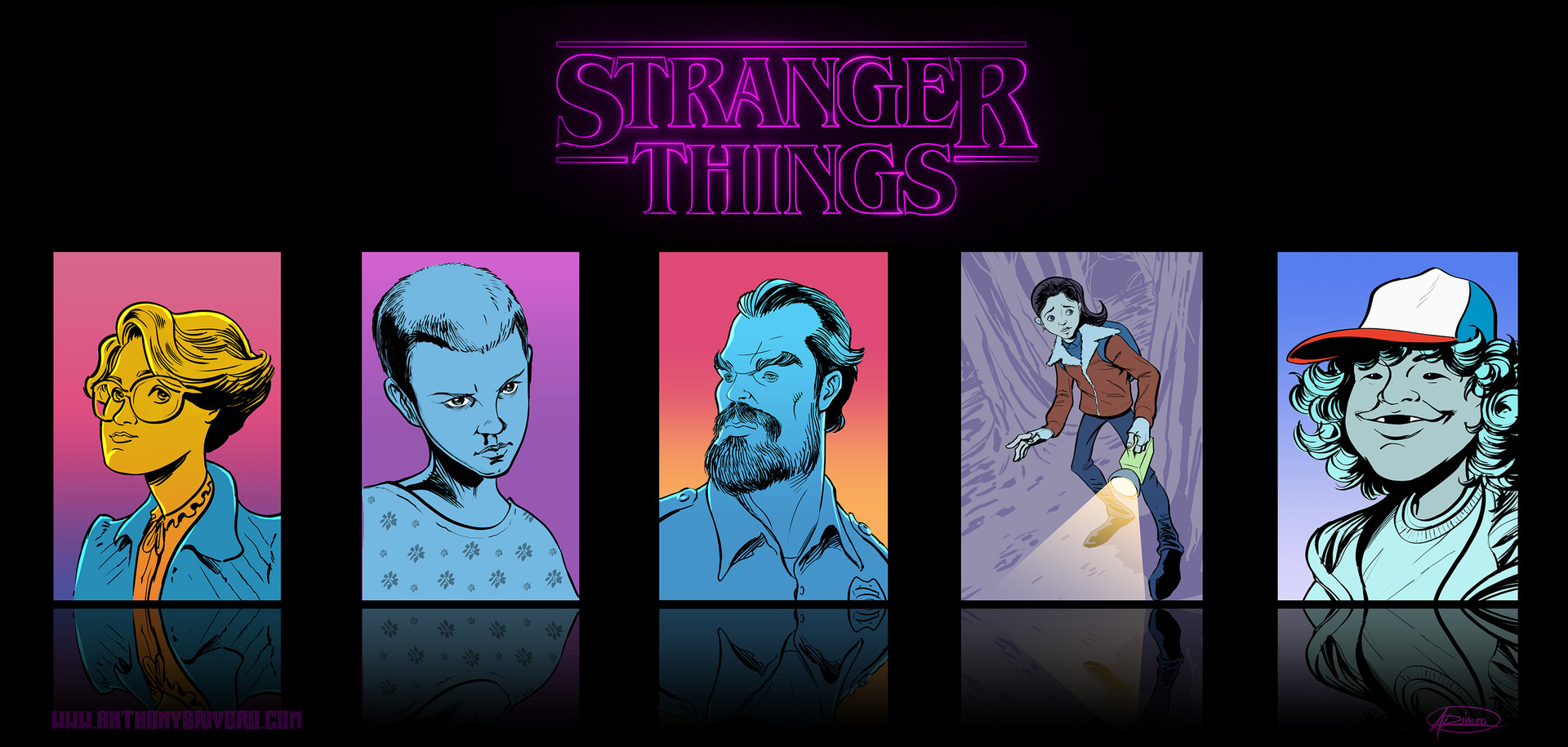 Anthony rivero strangerthingsposter small