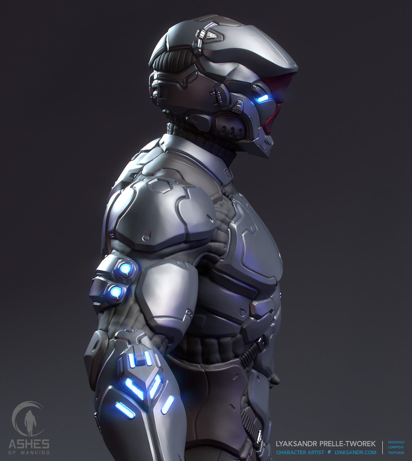 Lyaksandr prelle tworek aom eastern light armor highpoly side