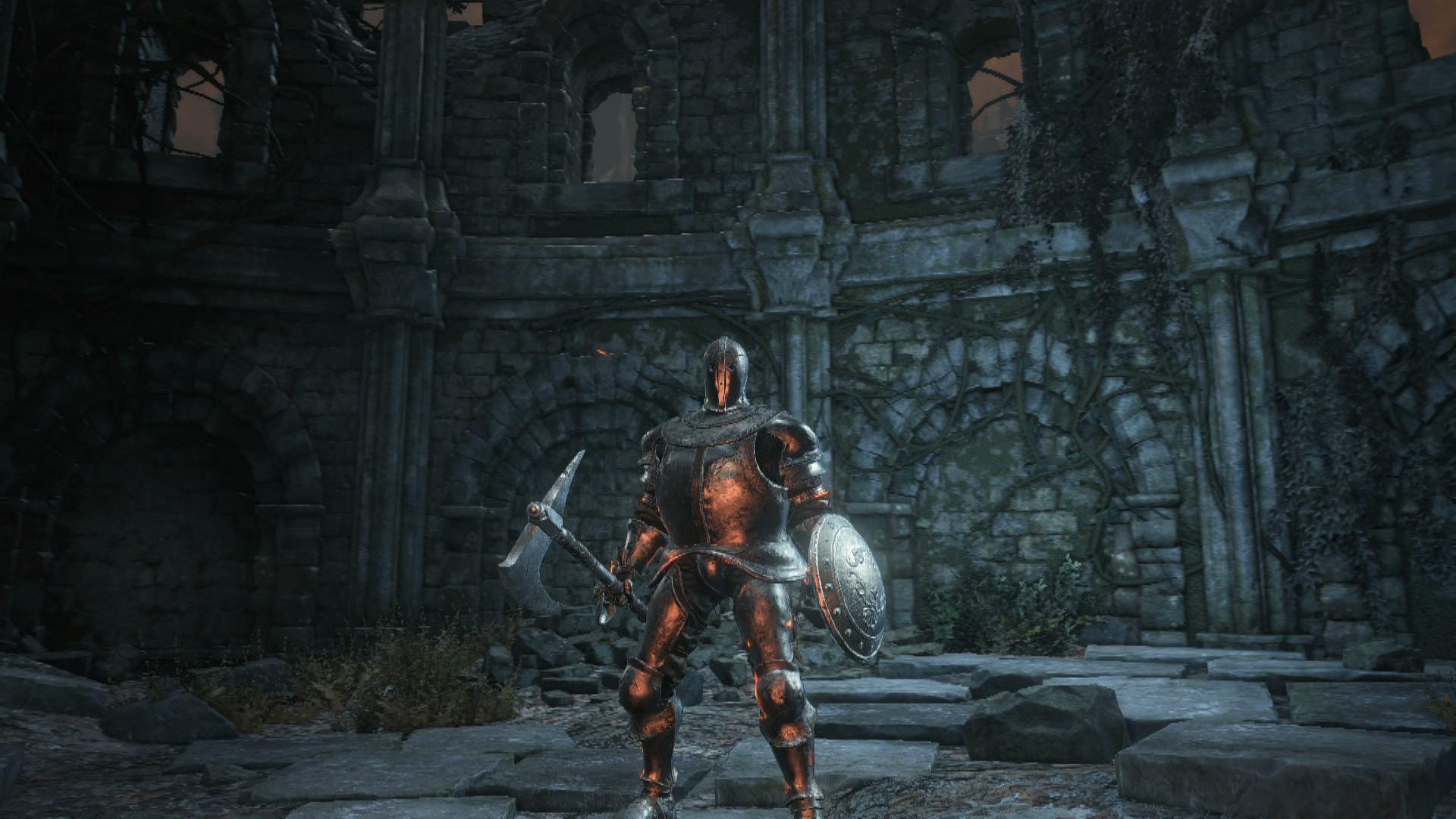 ArtStation - Dark Souls III - Horace the Hushed, Yin Ning Lim