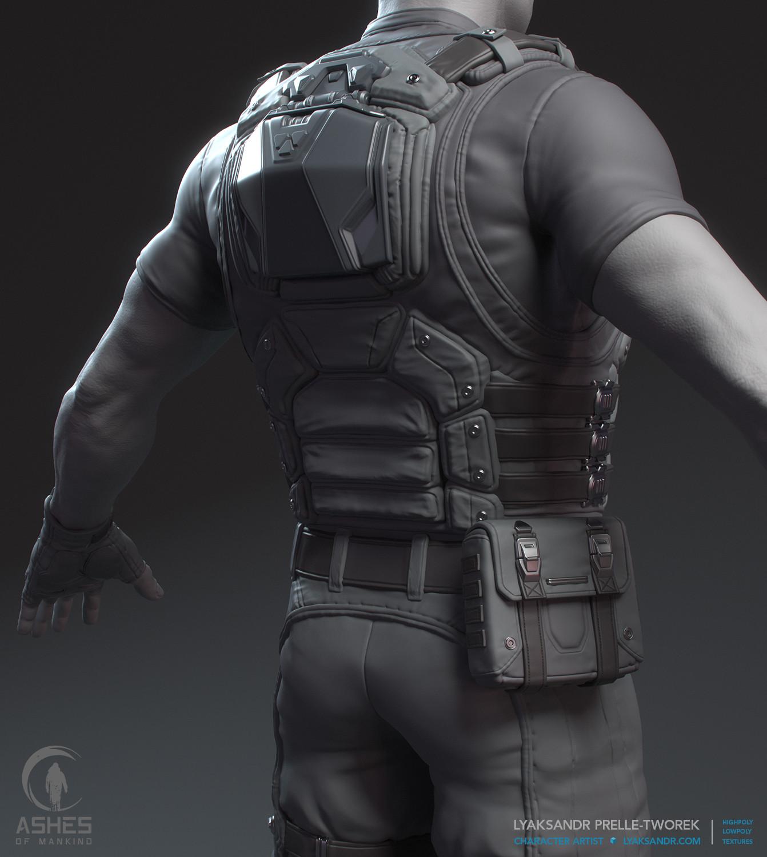 Lyaksandr prelle tworek aom starting armor hp back detail