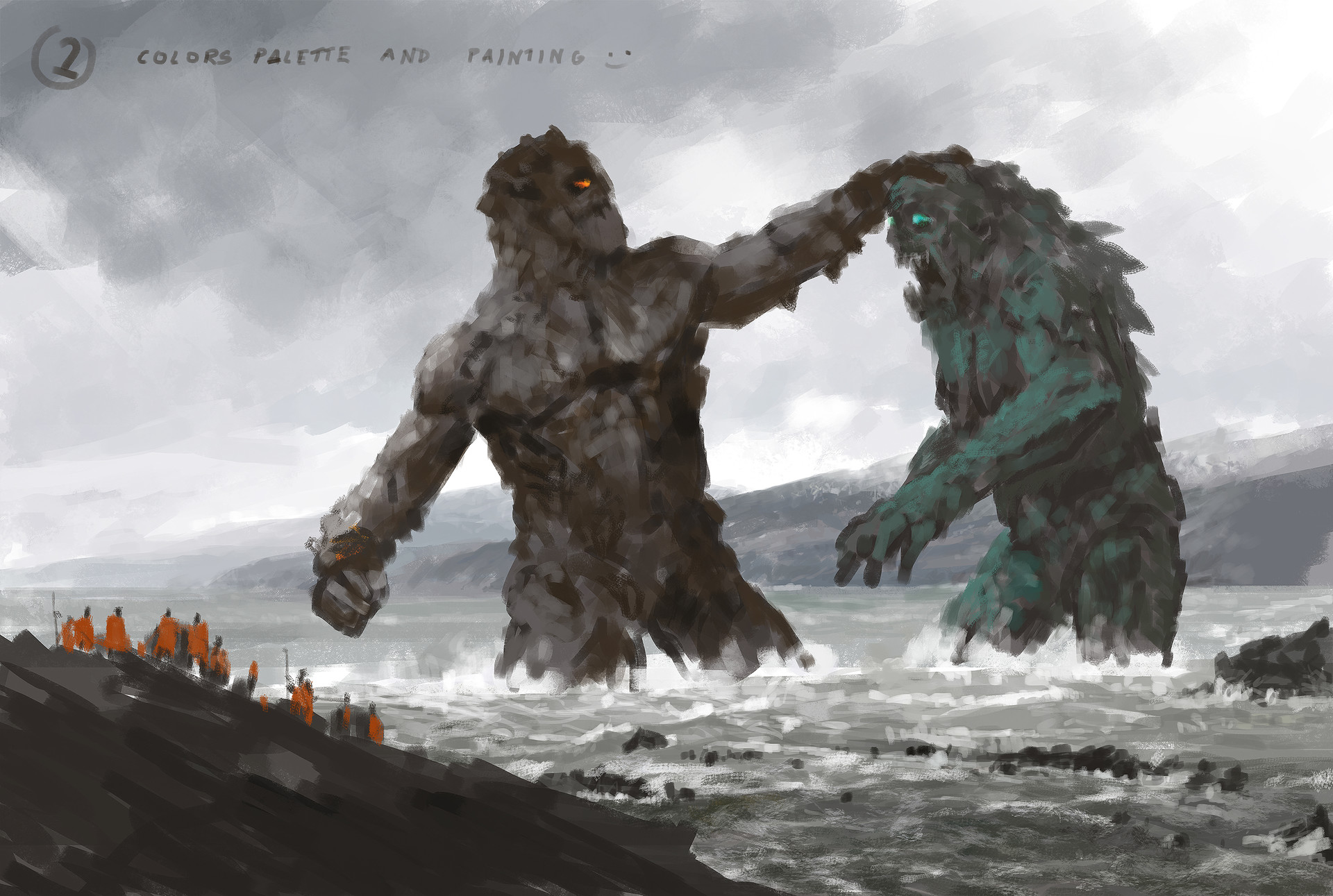 Jakub rozalski ancients conceptart 05process2