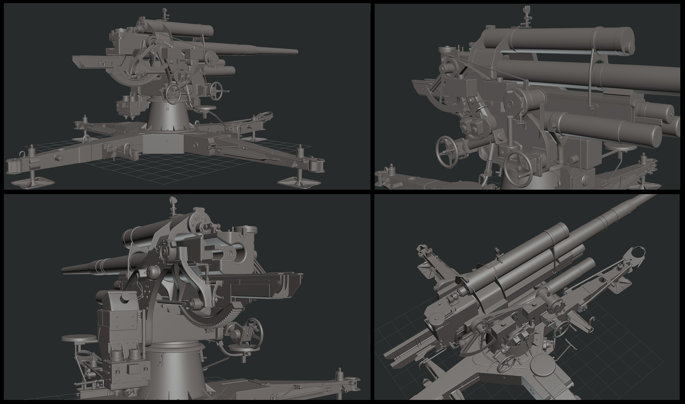 Cannon 88mm Flak 36