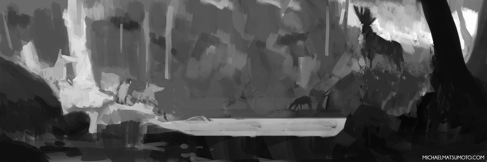 Michael matsumoto forest spirit web sketch