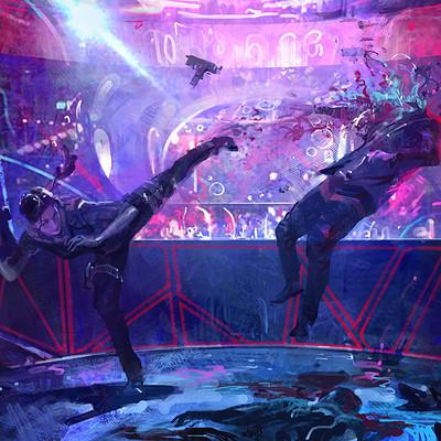Alexander chelyshev bar fight s