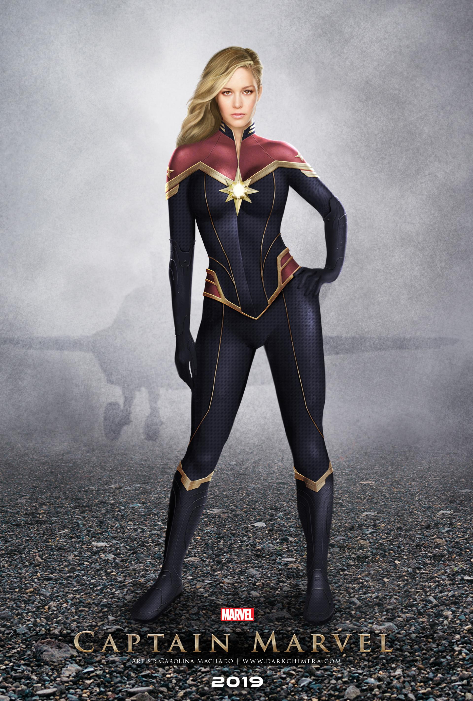 Carolina Machado Captain Marvel