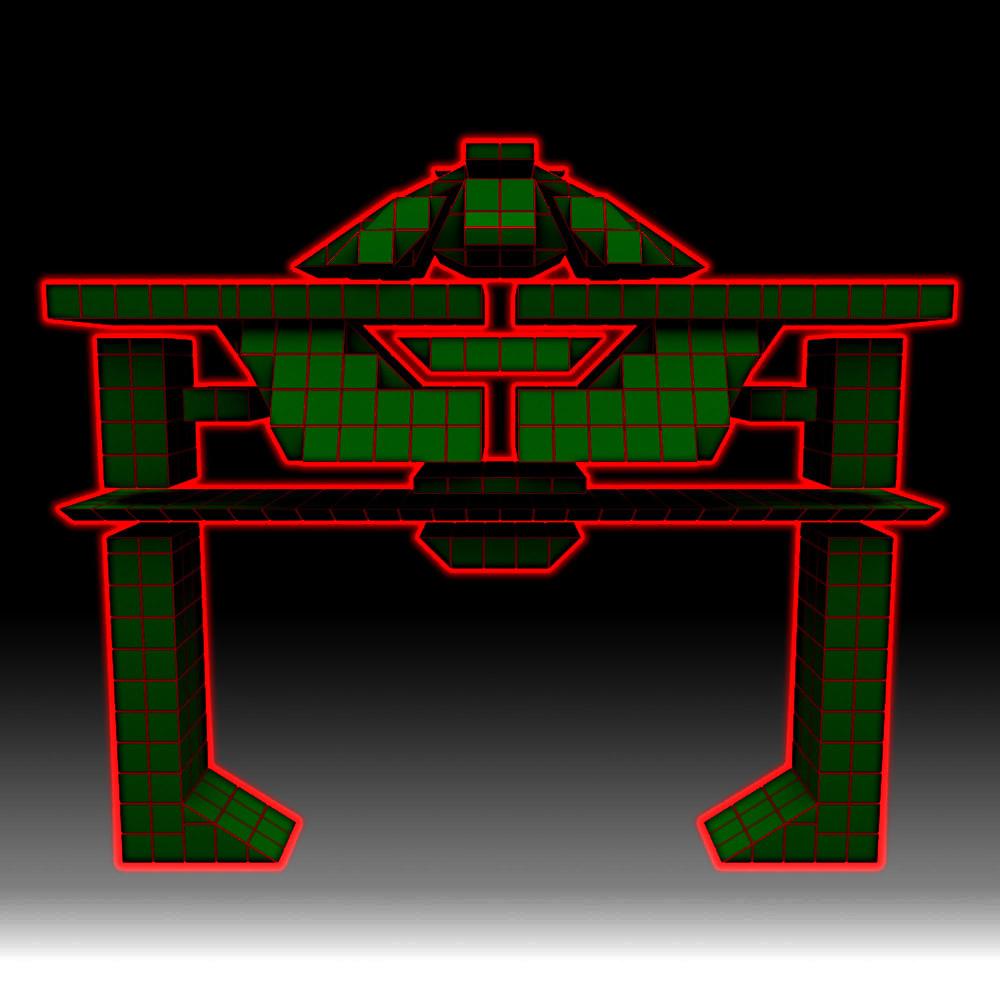 Rob mcdaniel tron recognizer front dark2