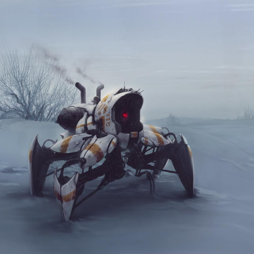 Alexander gorisch paint sci fi 11