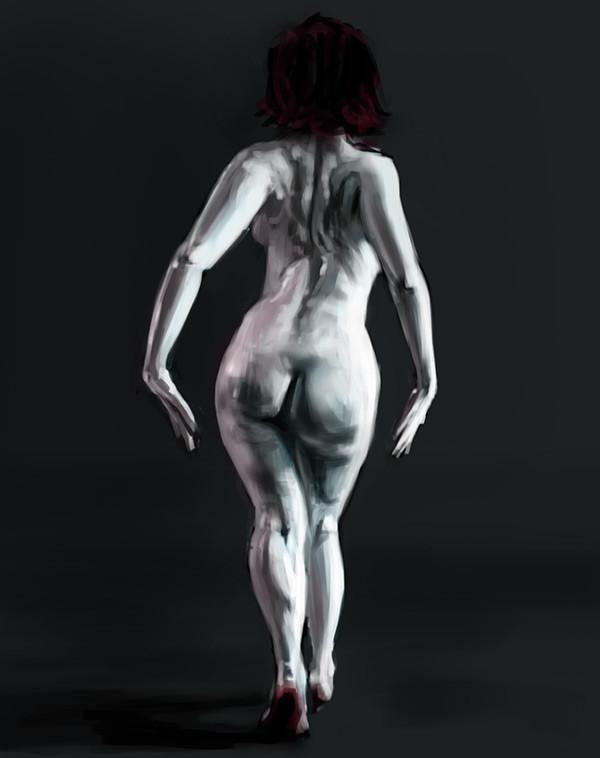 Alexander gorisch paint akt 03
