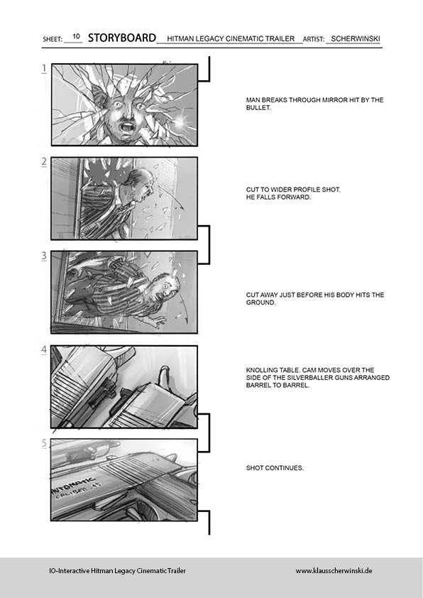 Klaus scherwinski hitman storyboards legacy trailer11