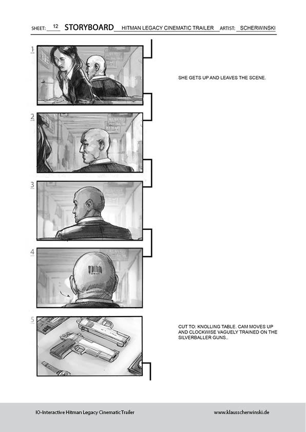 Klaus scherwinski hitman storyboards legacy trailer13