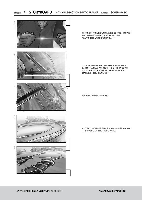 Klaus scherwinski hitman storyboards legacy trailer9