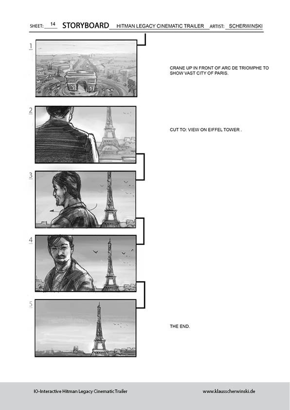 Klaus scherwinski hitman storyboards legacy trailer15