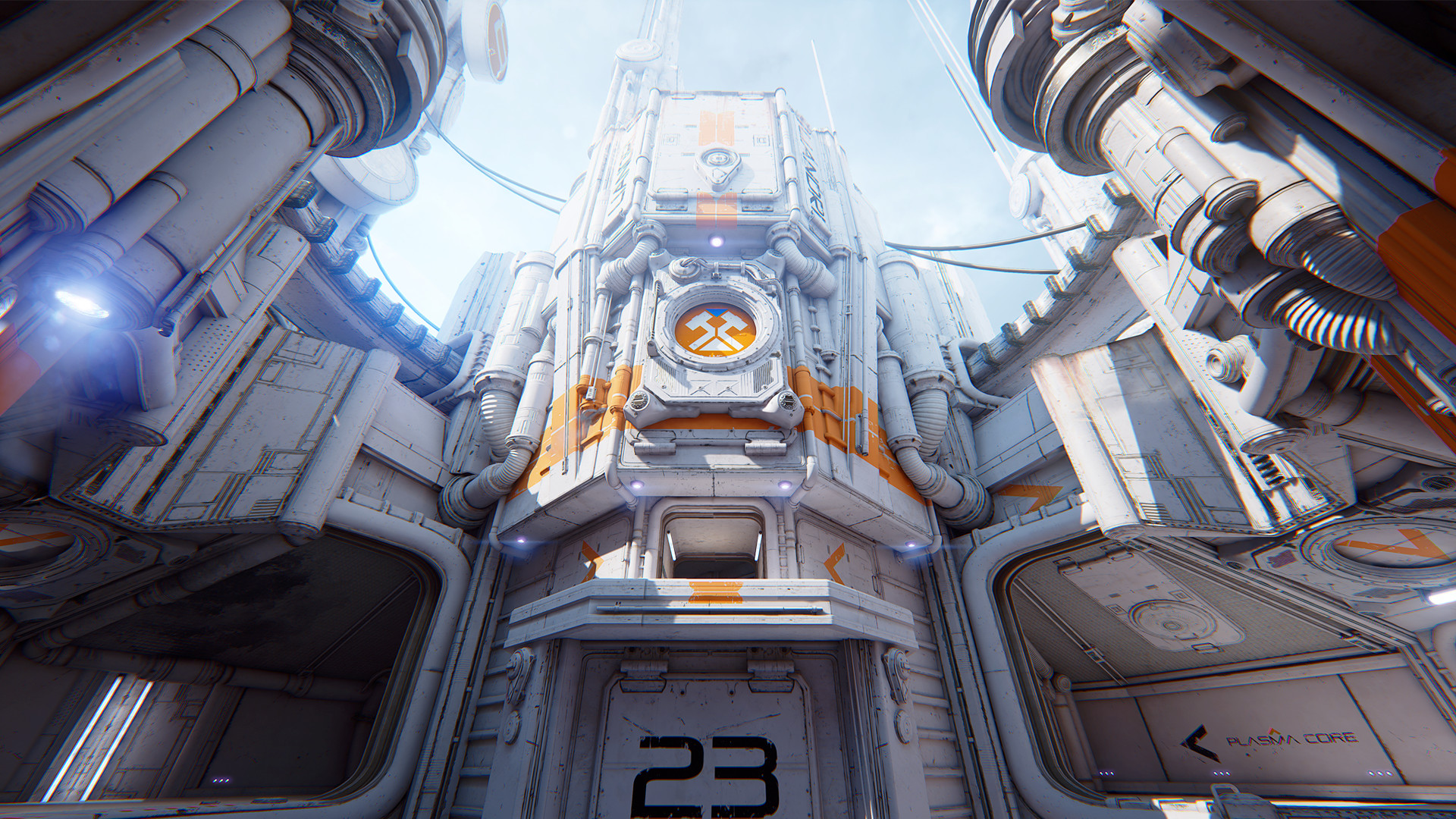 ArtStation - Outpost 23 Unreal Tournament (Epic Games), REK 23