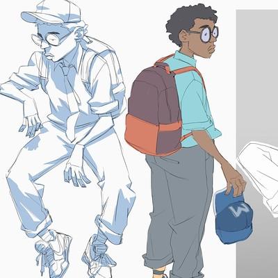 Ifesinachi orjiekwe kid character design