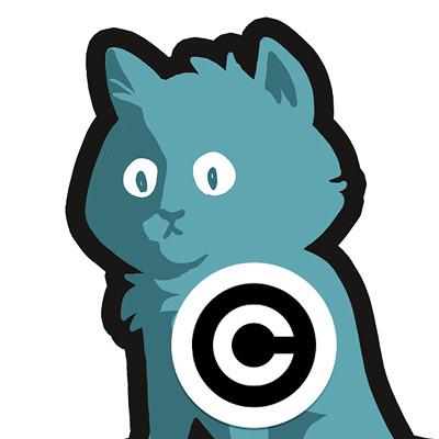 Steve rampton turquoise kitten